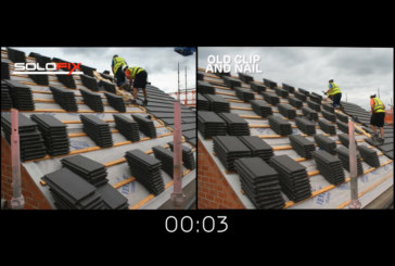 Tests prove new product cuts roof clipping time by 30%