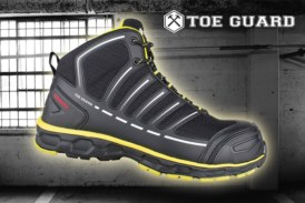 Win a Pair of Toe Guard Jumper Safety Boots!