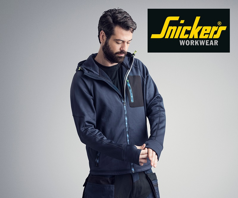 Three Snickers FlexiWork Stretch Hoodie Up for Grabs