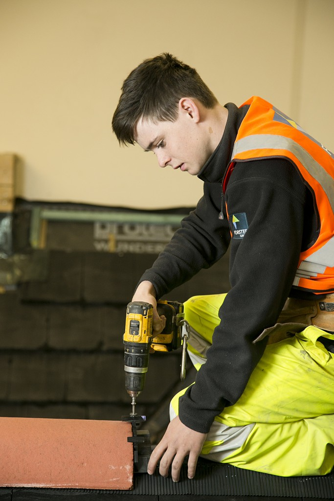 Apprentice Working at Forster Skills Academy