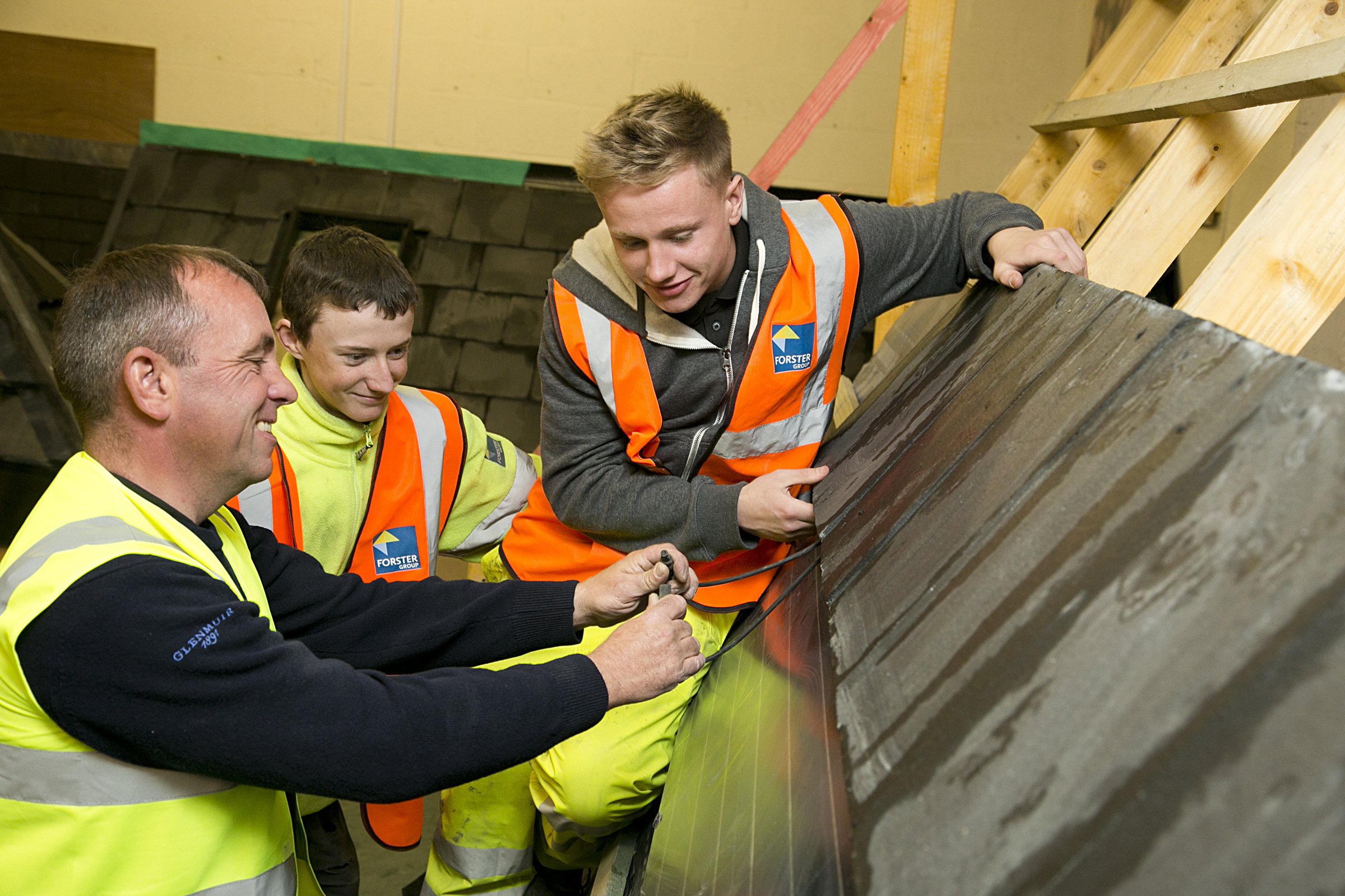 Forster Roofing Invests in Next Generation