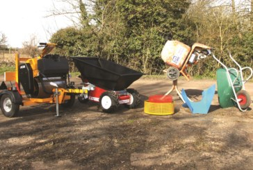Sift & Shift: Belle Minimix 150 & MUV Electric Wheelbarrow
