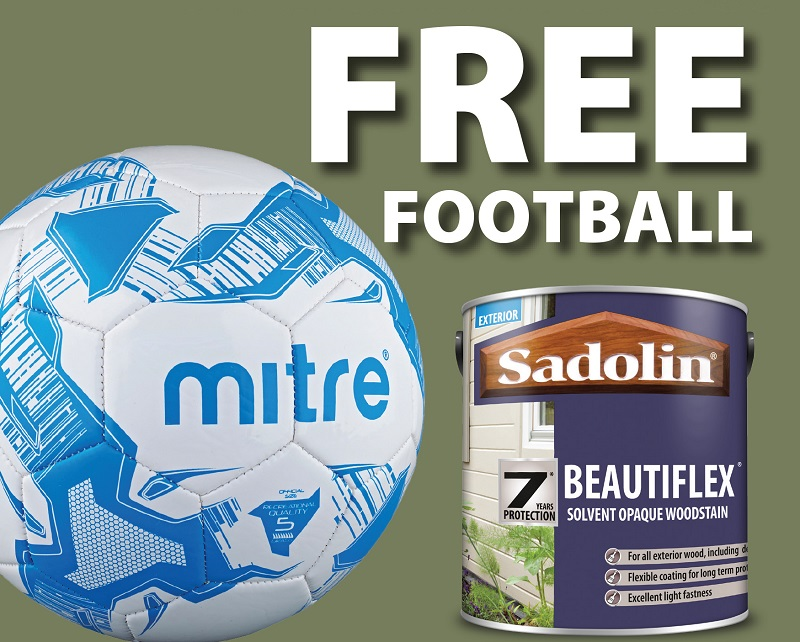 Check Out Sadolin's Autumn Football Deal