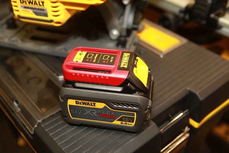 Roger Bisby: Loading Up with Dewalt Batteries