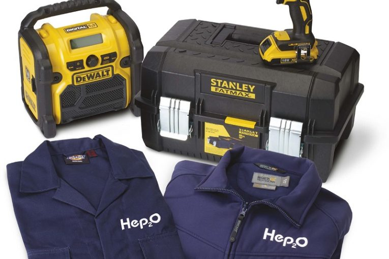 Win Lots of  Gear With Hep2O!