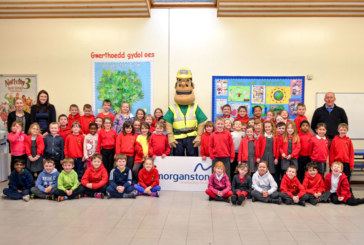 Morganstone Visits School to Teach Pupils About Construction Site Safety