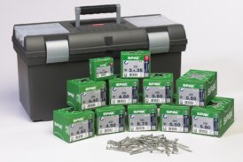 Win! Ten Packs of Spax Wirox Screws and Toolboxes to Give Away!