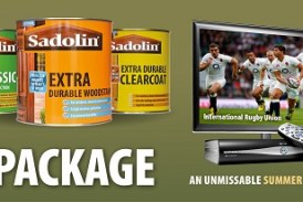 Win Sky for a Year from Sadolin