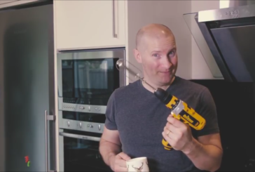 Watch: Bake Off's Richard Burr Swaps Whisks for Tools