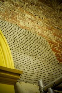 Restoration of the Beaney, Canterbury using Limelite plaster