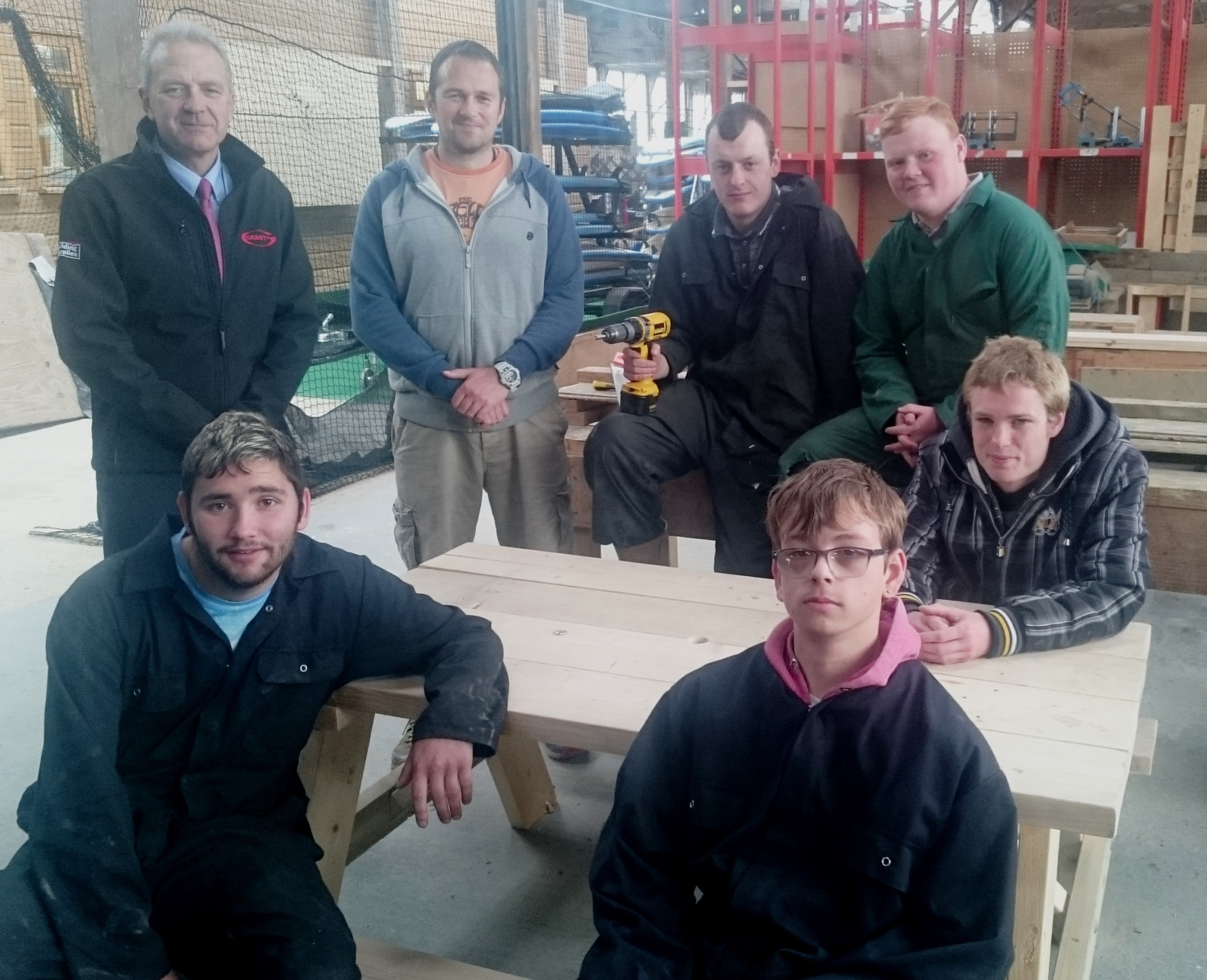 RGB Helping Charity Teach Youngsters Carpentry Skills