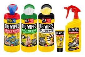 Win! 3 Big Wipes Cleaning Kits Up for Grabs