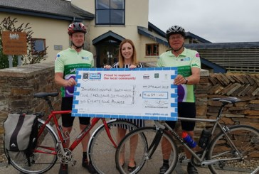RGB Staff Member and Customer Raise Over £4.5k for Children's Hospice From Epic Bike Ride