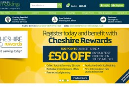 Cheshire Mouldings Launches New E-Commerce Website