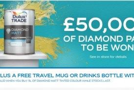 Win Up to £50,000 Worth of Dulux Diamond Paint