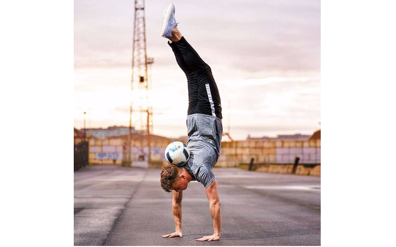 Freestyle Footballer to Perform at Pro Builder Live