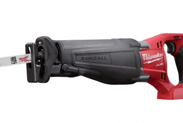 Win a Milwaukee Cordless Sawzall!