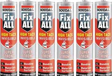 Up for Grabs! 48 Tubes of Soudal Adhesive!