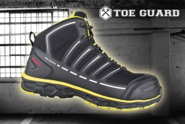 Get Your Feet into One of Six Pairs of Toe Guard Safety Boots!