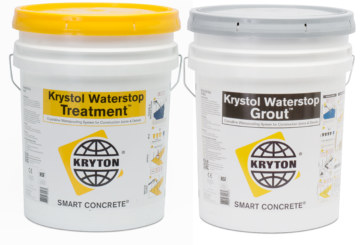 Kryton waterproofing product available from RIW