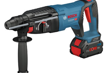 New 18-volt rotary hammer from Bosch