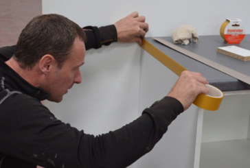 Rapid Edge - the iron on solution to laminate edge fixing on worktops