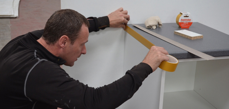 Rapid Edge – the iron on solution to laminate edge fixing on worktops