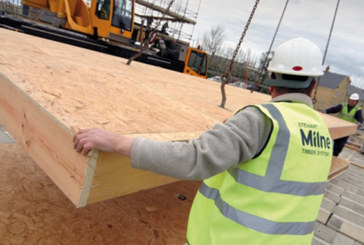 House builders turn to timber