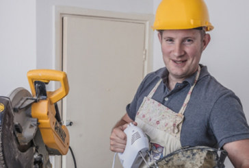 Richard Burr from GBBO - combining builder, baker and cake maker can be a challenging mix
