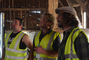 14th century barn refurbishment with the William Morris Craft Fellowship and SPAB