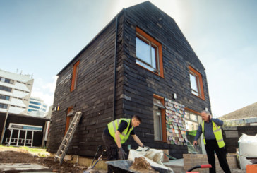 House Made From Recycled Materials