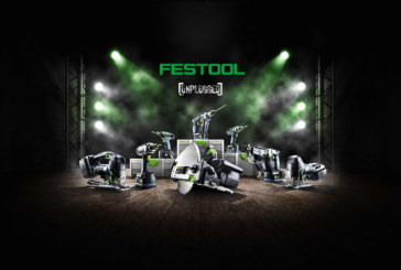 Festool Launches New Cordless Range
