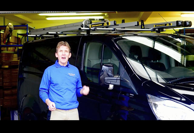 Roger Bisby – Commercial Vehicle Roof Rack Tips
