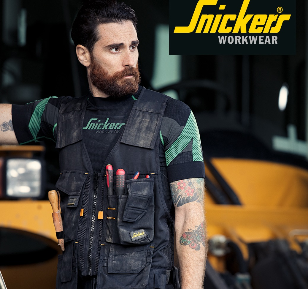 New Snickers Workwear Allround Tool Vest Professional