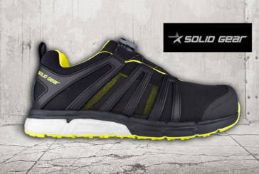 Snickers Present Solid Gear Safety Shoes