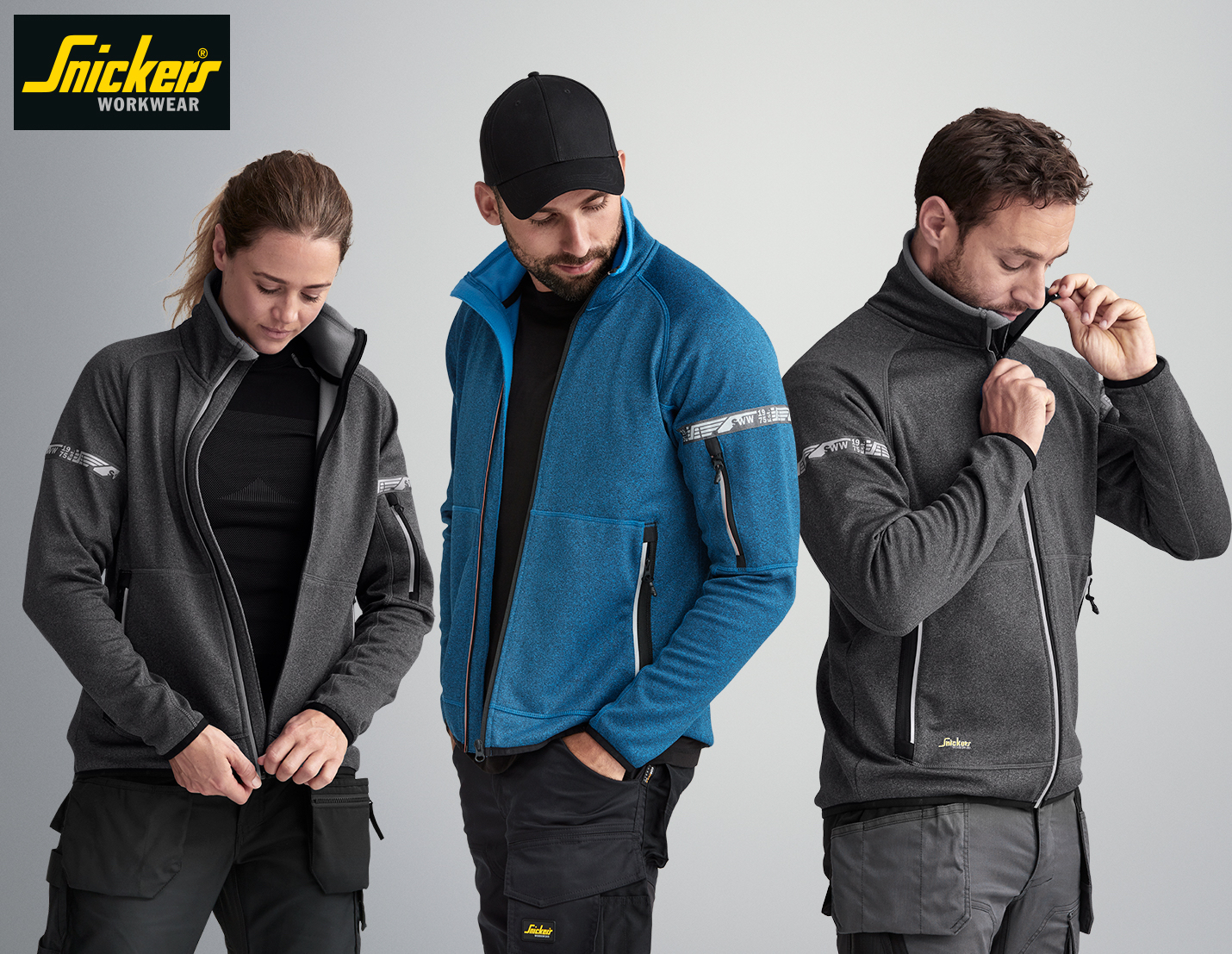WIN: AllroundWork fleeces from Snickers Workwear