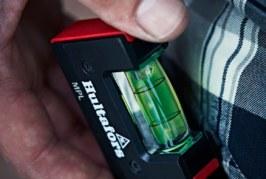 Pocket spirit level from Hultafors Tools
