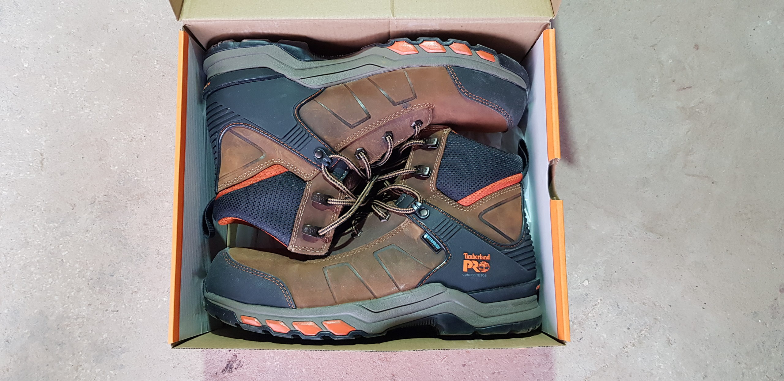 Review: Tibby Singh tries the Timberland PRO hypercharge work boot