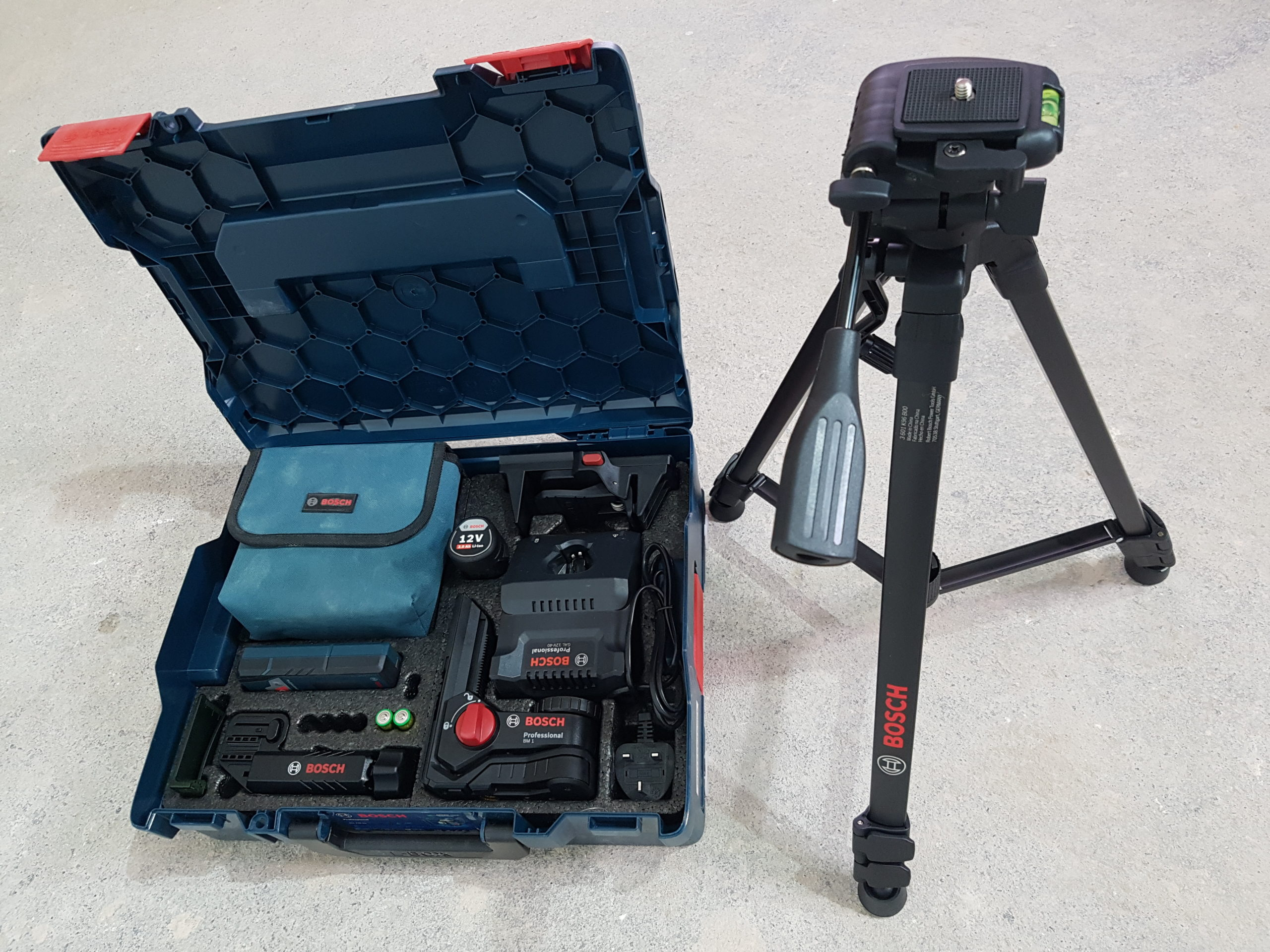 Tibby Singh gets the measure of the Bosch GLL 3-80 CG Professional Laser Level