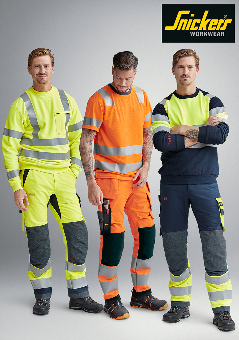ProtecWork range from Snickers Workwear