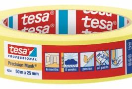 Sharp edges made easy with tesa tape