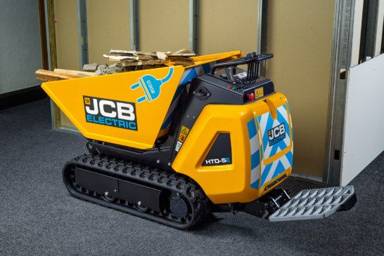 JCB expands E-Tech line with Electric Dumpster model