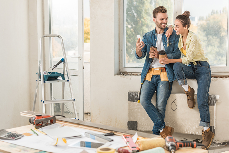 Renovations and relationships: A fifth of couples sleep in separate rooms as a result of renovation disagreements