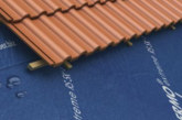 Weatherproof underlay from Klober