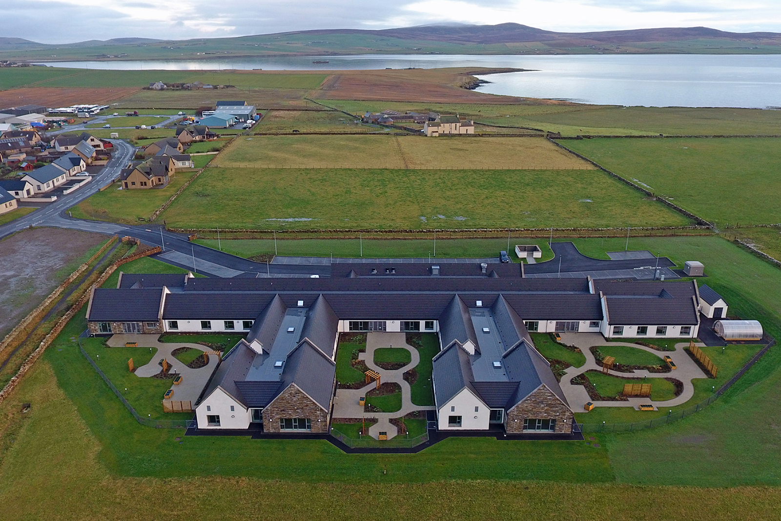Redland Mini Stonewold is the perfect solution against high winds in Orkney