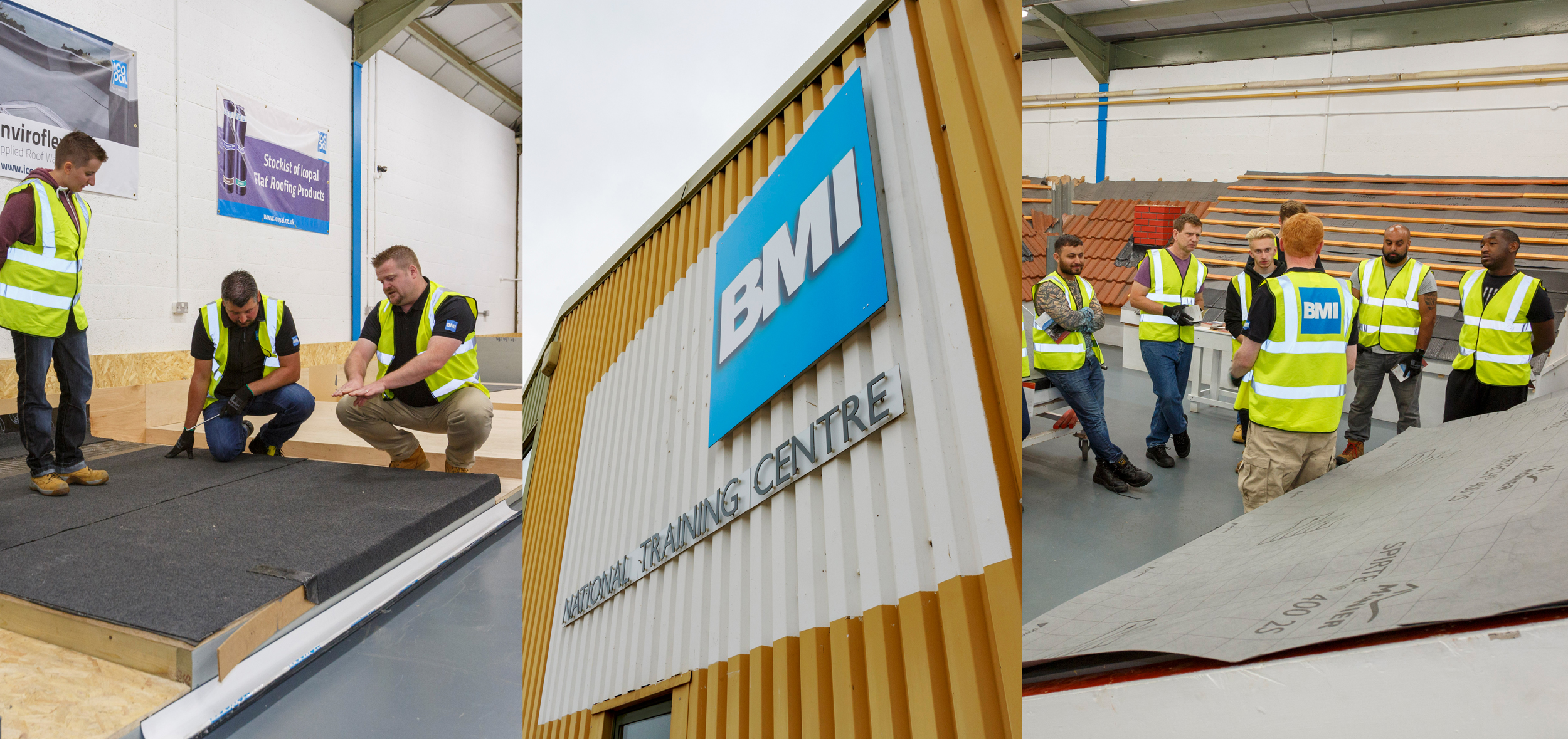 BMI Launches New Flat Roof Training Facility