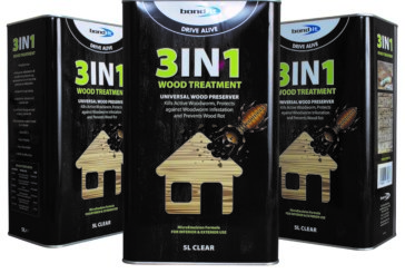 New 3-in-1 wood treatment from Bond It