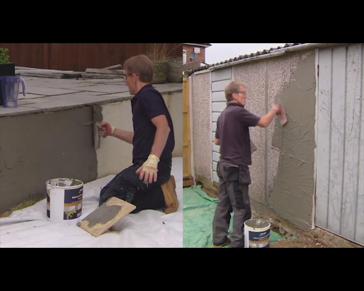 Bostik Brick Effect Render - Professional Builder