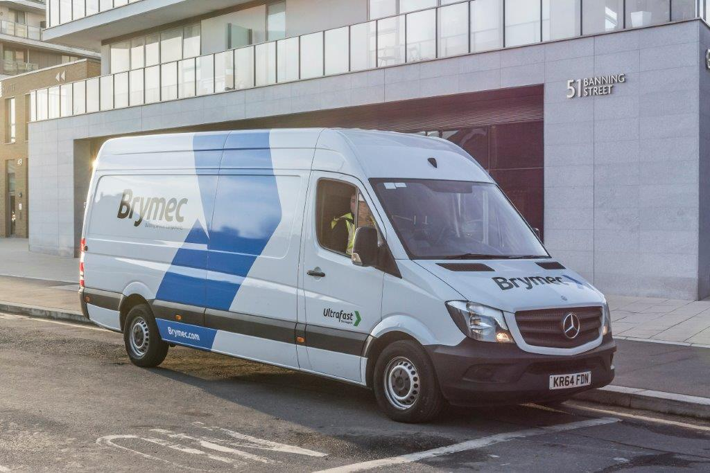 Increased delivery services from Brymec