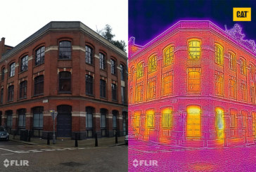 Smartphone pictures show heat loss from UK homes